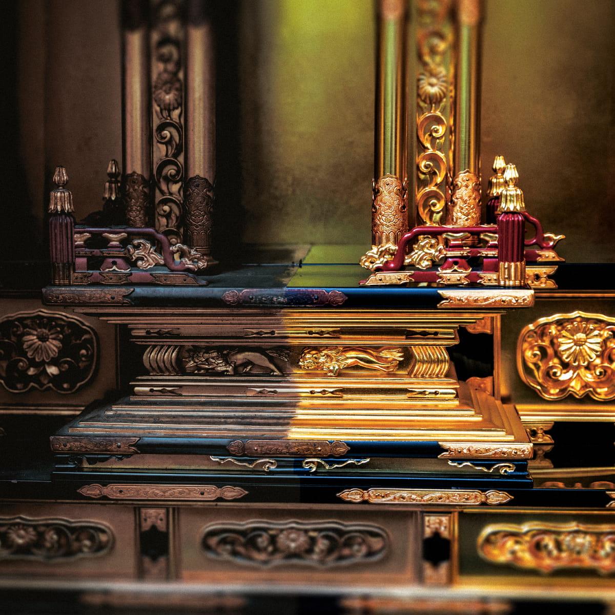 お仏壇の洗い・修復 事例2