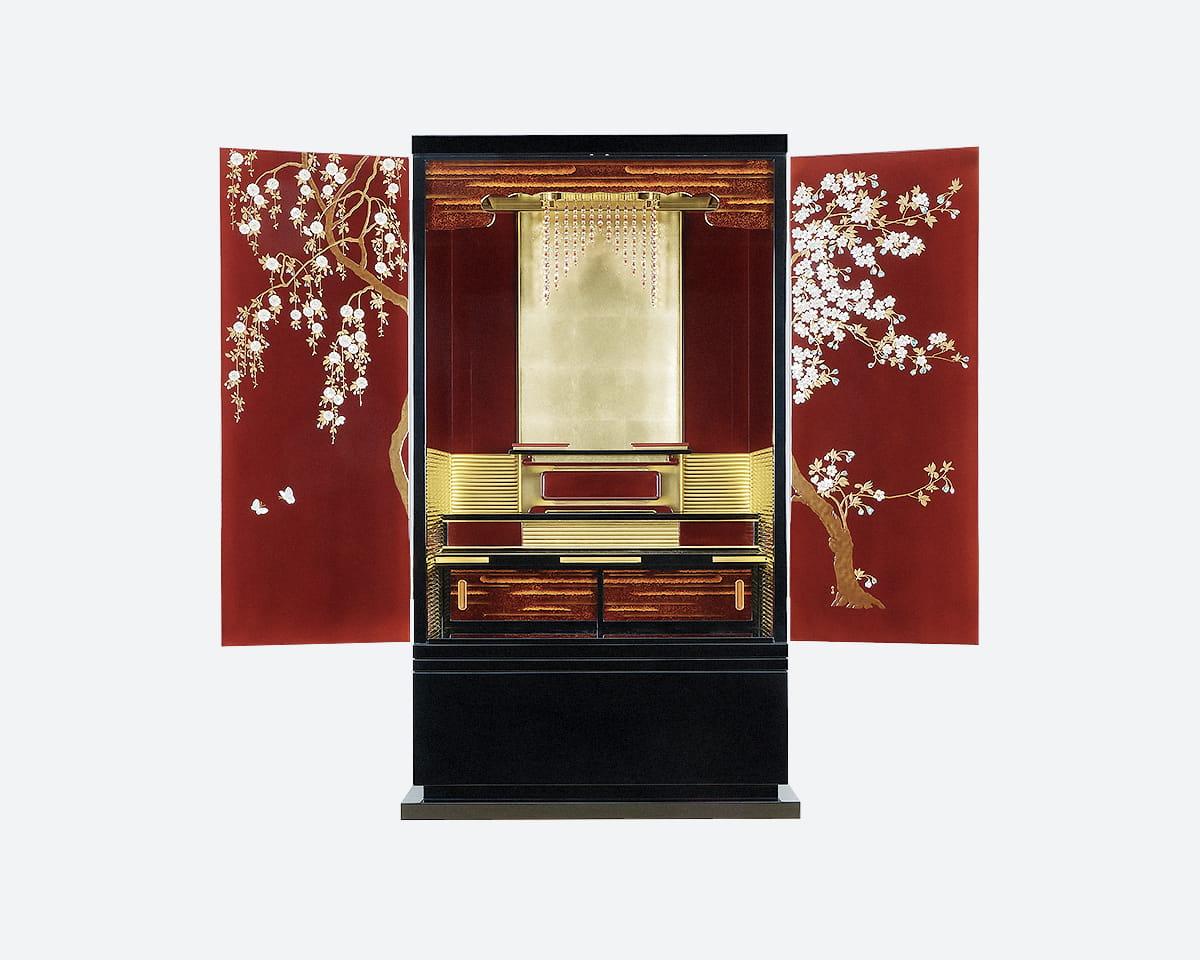金仏壇(無量寿 桜)