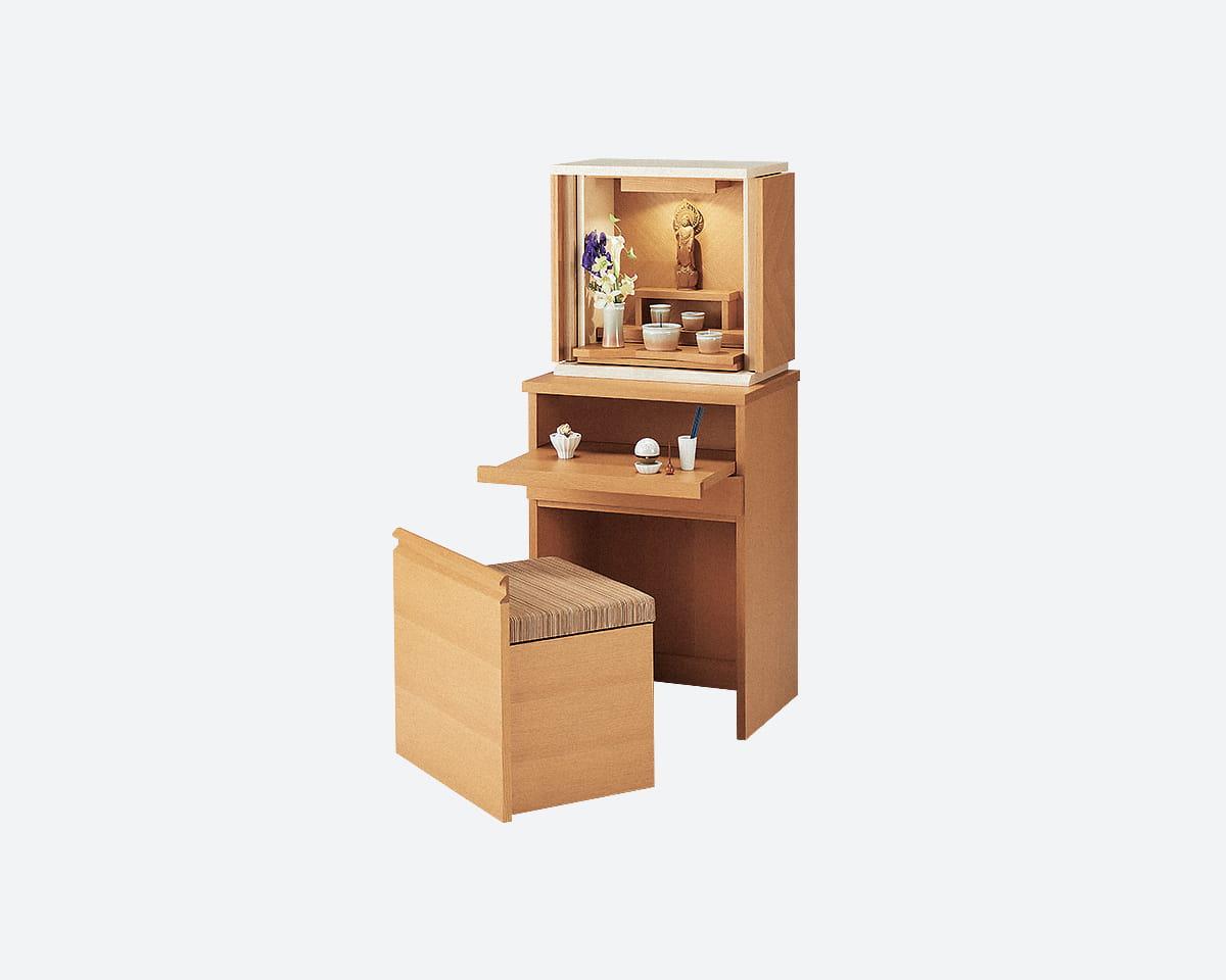 モダン仏壇 ジオ コラボライト(床置き・直置き、台付き、椅子付き)