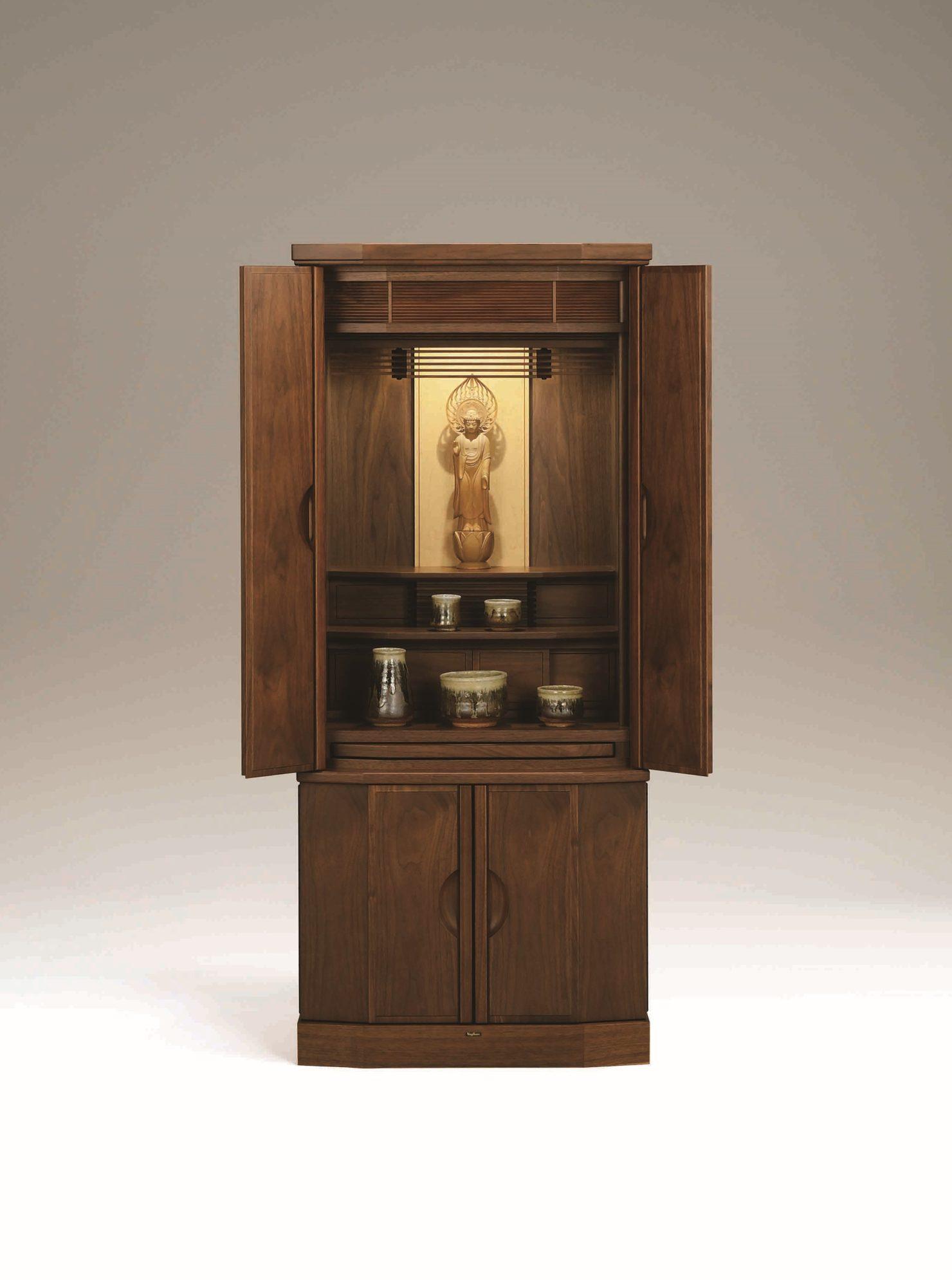 高級感のある現代仏壇「メヌエット1300」京都の老舗仏壇店が紹介する現代仏壇の魅力