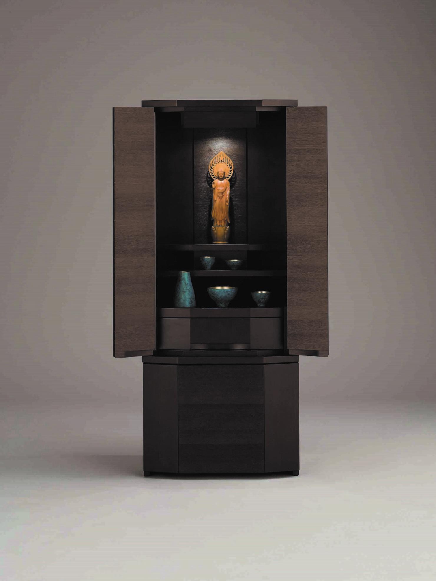 シンプルな現代仏壇「セダムダーク1200」京都の老舗仏壇店が紹介する現代仏壇の魅力