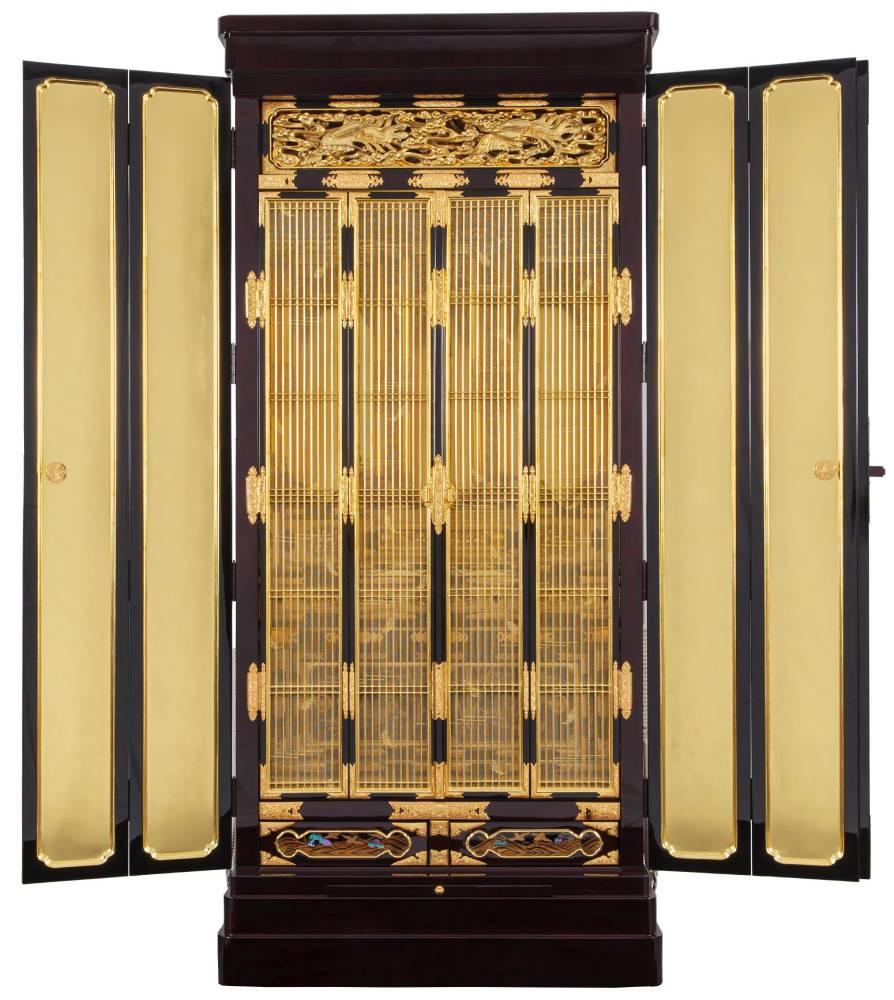 仏壇の修理・修復の工程 仏壇の修理後の障子