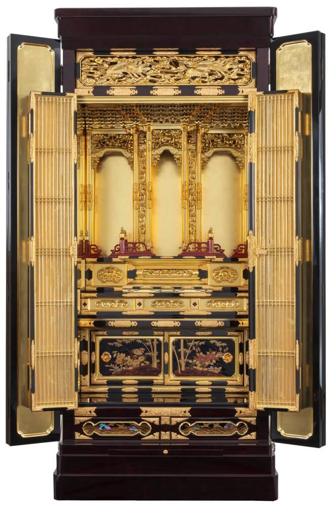 仏壇の修理・修復の工程 仏壇の修理後