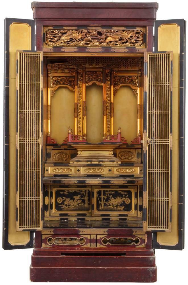 仏壇の修理・修復の工程 仏壇の修理前
