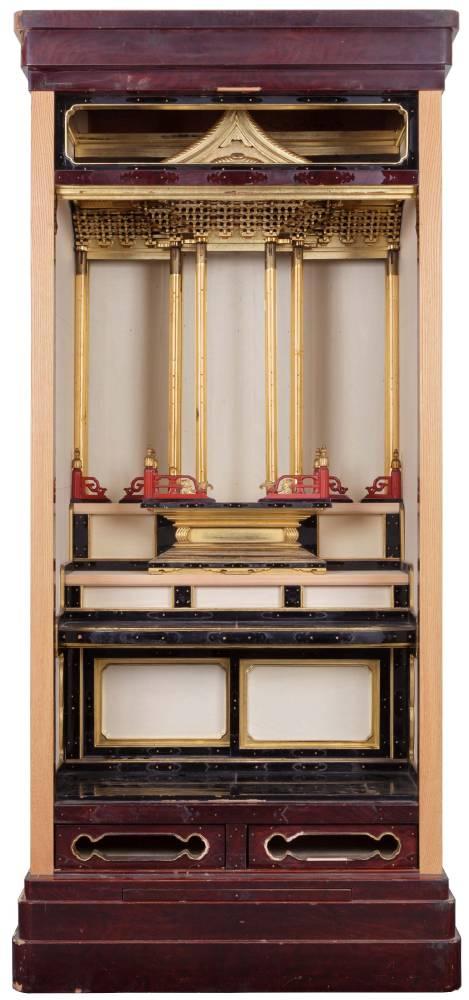 仏壇の修理・修復の工程 仏壇の木地の修理