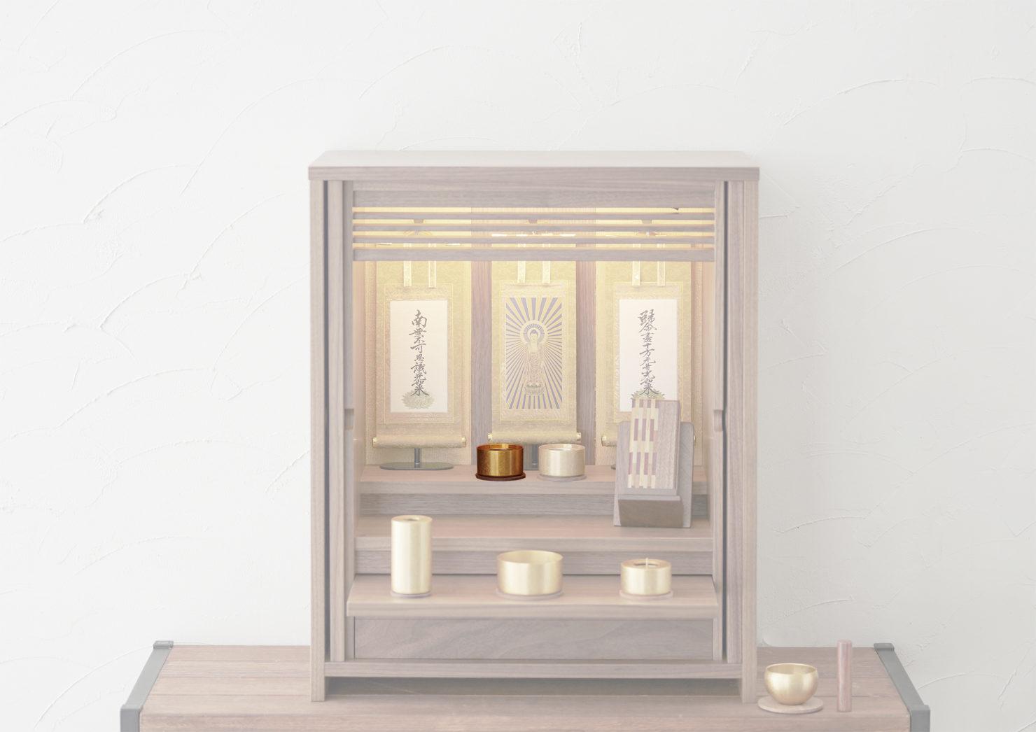 浄土真宗の仏壇の飾り方では、お茶やお水は供えない