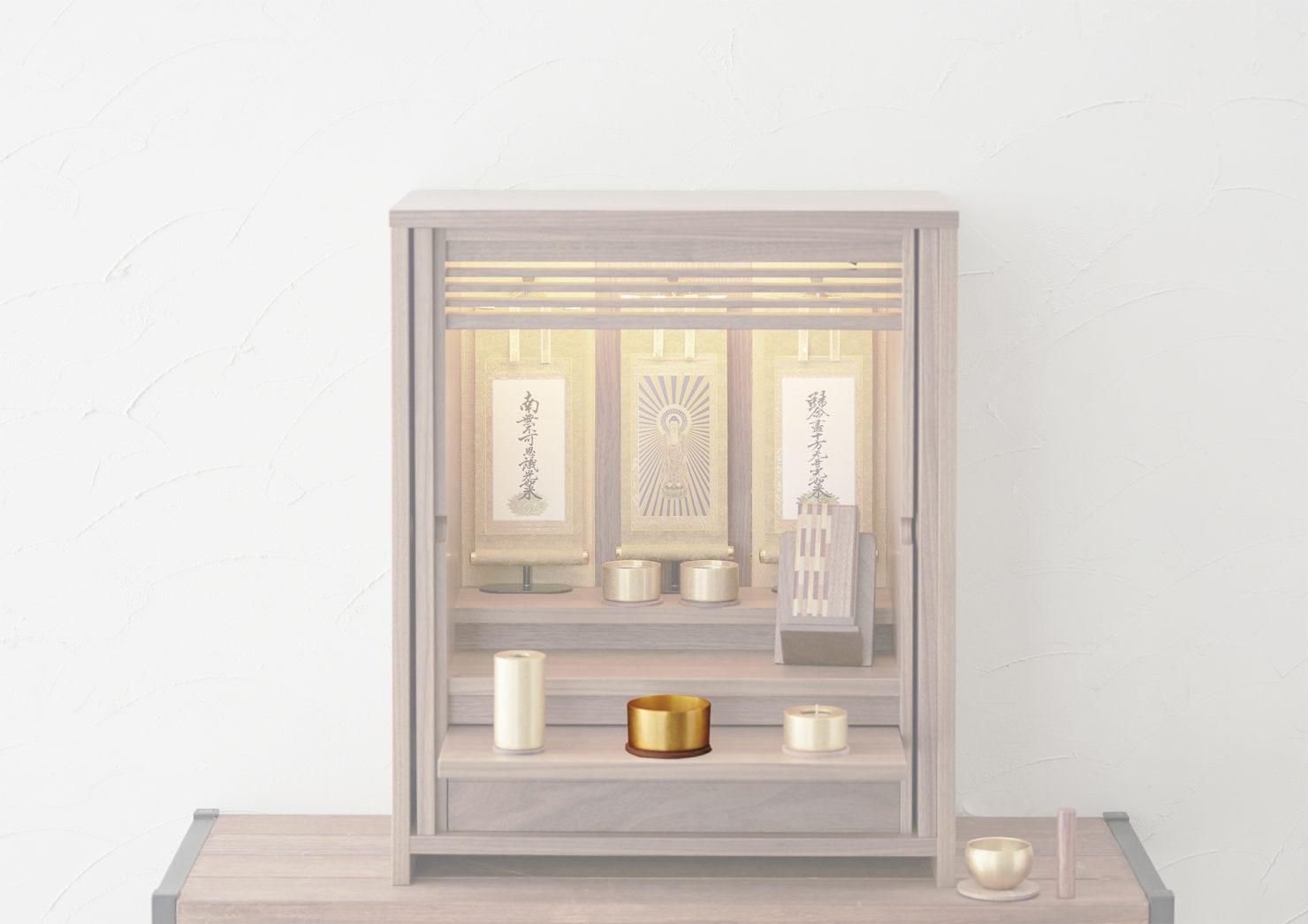 浄土真宗の仏壇の香炉の飾り方