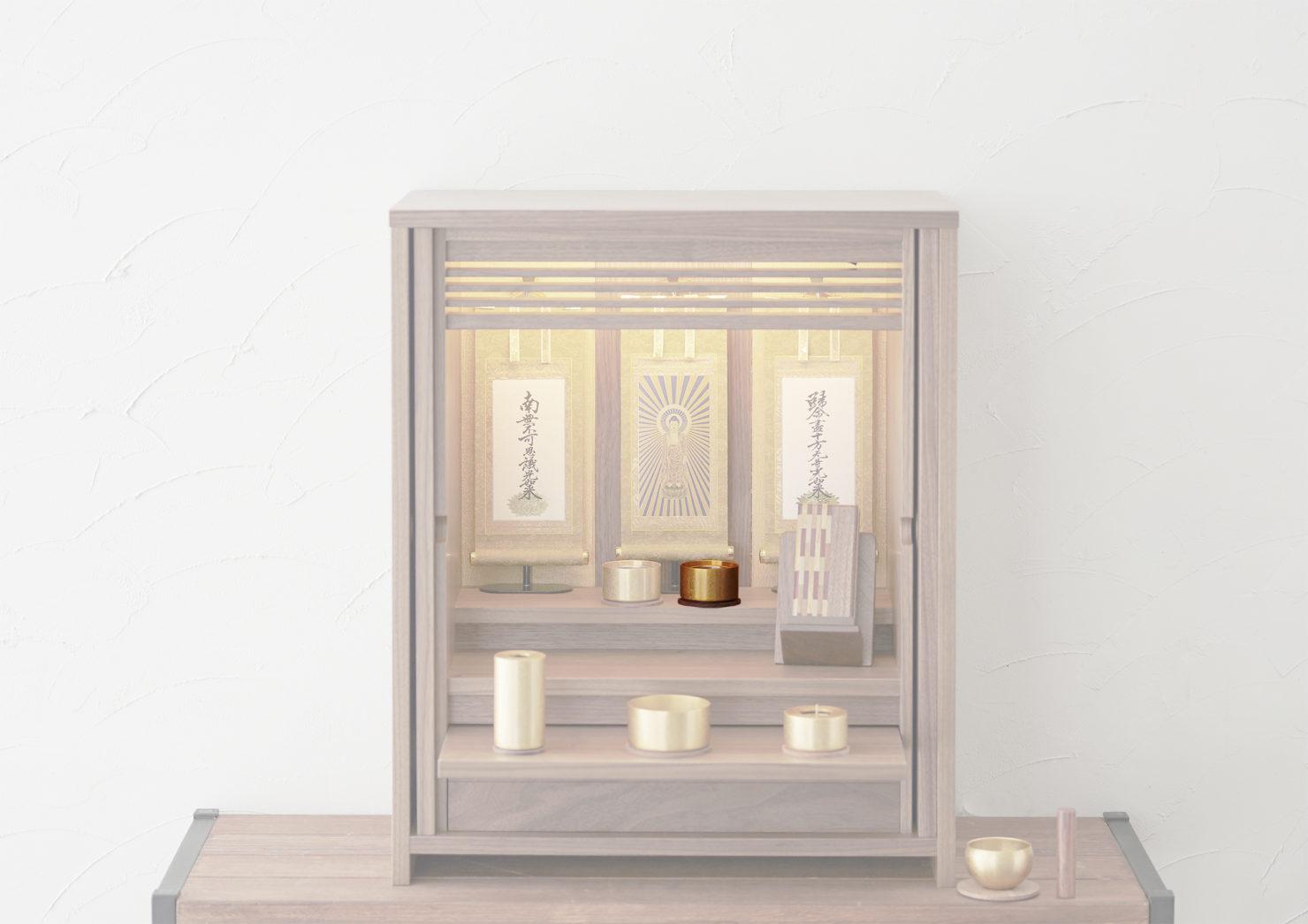浄土真宗のお仏壇の仏飯器の飾り方