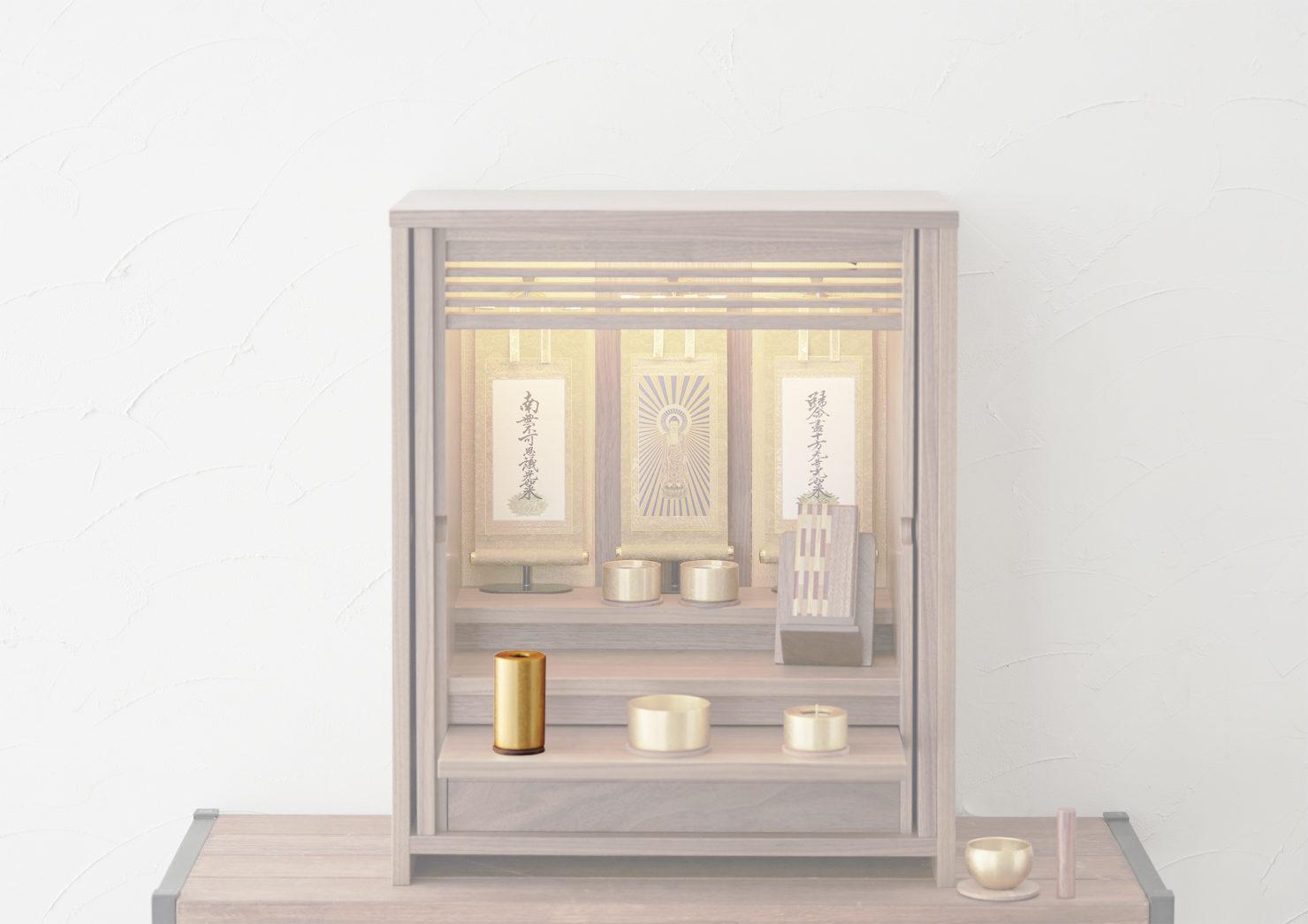 浄土真宗のお仏壇の花瓶の飾り方