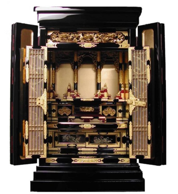 浄土真宗の大谷派と本願寺派の上置き型金仏壇