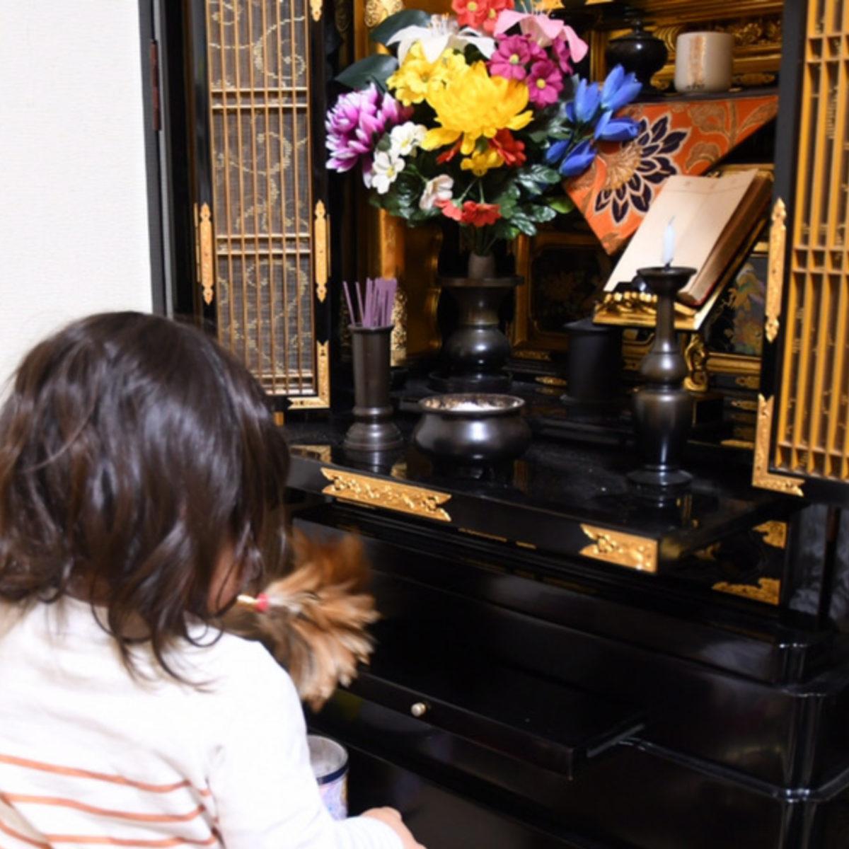 お仏壇のお掃除してみました お家でできるお仏壇のお掃除方法