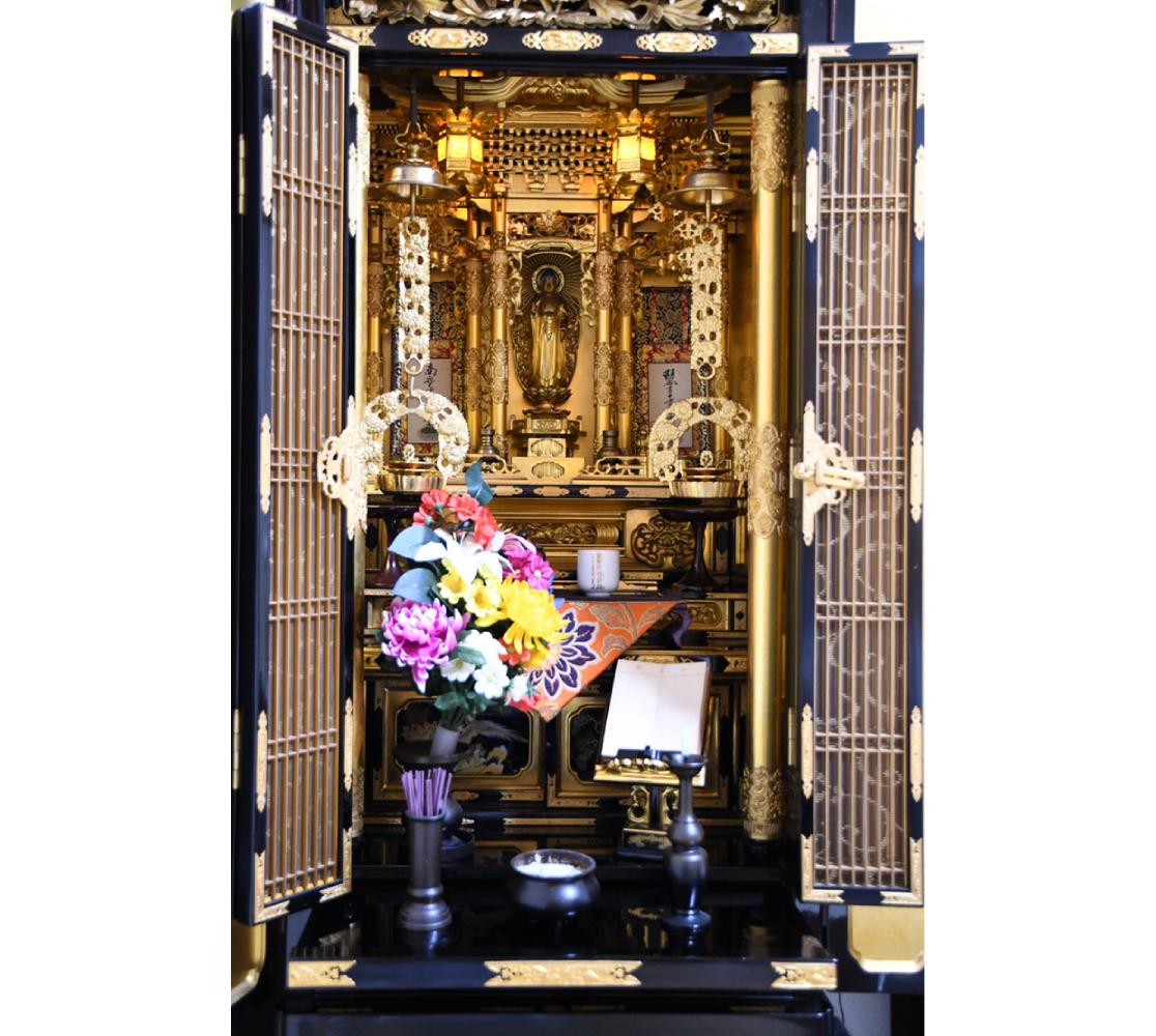 お掃除後のお仏壇