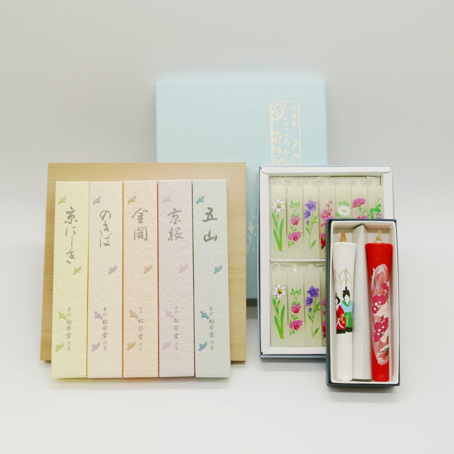 若林佛具製作所 京都本店 お線香 和蝋燭