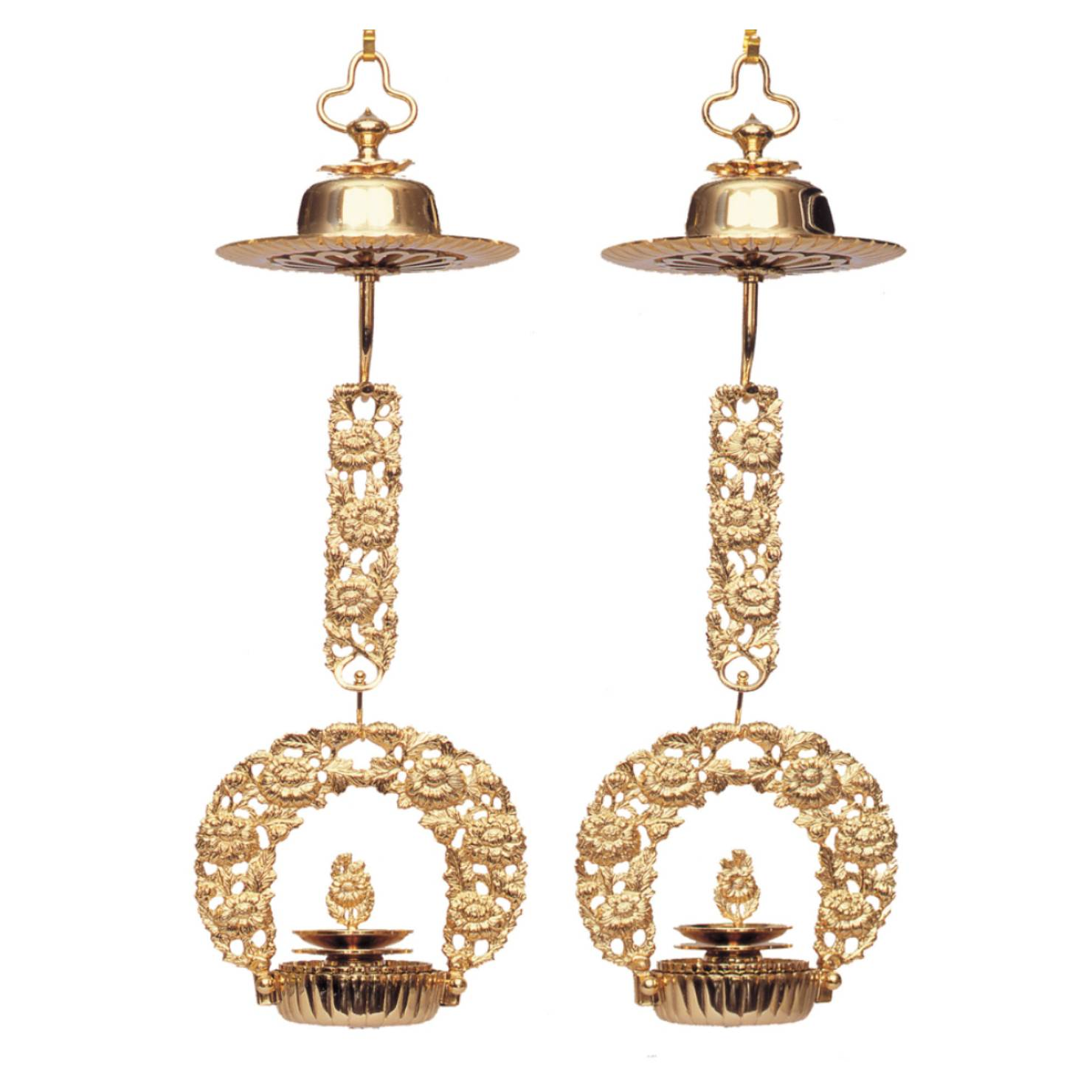 浄土真宗の浄土真宗本願寺派における正式な輪灯の菊輪灯
